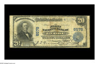 Globe, AZ - $20 1902 Plain Back Fr. 654 The First NB Ch. # 6579 A just plain rare note from the the sole collectible ba...