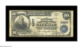 National Bank Notes:Arizona, Tucson, AZ - $10 1902 Plain Back Fr. 628 The Consolidated NB Ch. # 4287. A more than decent large size note from a state...