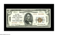 National Bank Notes:Arkansas, Lake Village, AR - $5 1929 Ty. 2 The First NB Ch. # 13632. Here is a beautifully embossed, crackling fresh Gem Crisp U...