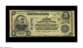 National Bank Notes:Colorado, Dolores, CO - $5 1902 Plain Back Fr. 606 The First NB Ch. #(W)10770. An excessively rare note from the only issuer in t...