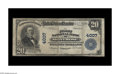 National Bank Notes:Colorado, Montrose, CO - $20 1902 Plain Back Fr. 653 The First NB Ch. # 4007.Two National Banks operated in this Southwest Colora...
