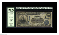 Washington, DC - $10 1902 Date Back Fr. 618 The Columbia NB Ch. #(E)3625 The officers' signatures remain darkly vivid o...