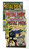 Silver Age (1956-1969):Superhero, Metal Men Group (DC, 1965-66) Condition: Average VF-.... (Total: 7 Comic Books)