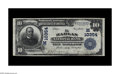 Harlan, IA - $10 1902 Plain Back Fr. 629 The Harlan NB Ch. # (M)10354 Eight large size notes are reported in Kelly's ce...