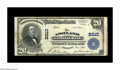 National Bank Notes:Kentucky, Ashland, KY - $20 1902 Plain Back Fr. 654 The Ashland NB Ch. #2010. This was the first bank chartered here and it opera...