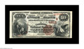 National Bank Notes:Kentucky, Augusta, KY - $10 1882 Brown Back Fr. 485 The Farmers NB Ch. #(S)4612. A lovely Brown Back which was formerly part of t...