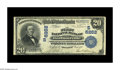 National Bank Notes:Kentucky, Barbourville, KY - $20 1902 Plain Back Fr. 650 The First NB Ch. #(S)6262. A very tough bank in large size, with the Kel...