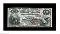 National Bank Notes:Kentucky, Bowling Green, KY - $10 1882 Brown Back Fr. 490 The Citizens NB Ch.# (S)5900. One of a trio of high grade Second Charte...