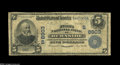National Bank Notes:Kentucky, Burnside, KY - $5 1902 Date Back Fr. 594 The First NB Ch. #(S)8903. This is a very rare bank in large size, with the Ga...