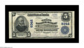 National Bank Notes:Kentucky, Campbellsville, KY - $5 1902 Plain Back Fr. 598 The Taylor NB Ch. #6342. An attractive example from this institution, w...