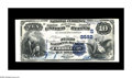 National Bank Notes:Kentucky, Carrollton, KY - $10 1882 Value Back Fr. 577 The First NB Ch. #(S)2592. A note with margins which would be extraordinar...