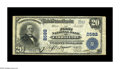 National Bank Notes:Kentucky, Carrollton, KY - $20 1902 Plain Back Fr. 660 The First NB Ch. #2592. This Very Fine example is only the second $20 ...