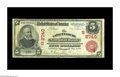 National Bank Notes:Kentucky, Catlettsburg, KY - $5 1902 Red Seal Fr. 587 The Catlettsburg NB Ch.# (S)2740. One of two Red Seals known from this none...