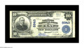 National Bank Notes:Kentucky, Clay, KY - $10 1902 Plain Back Fr. 626 The Farmers NB Ch. # 8943.This is a very rare bank in large size, with the censu...