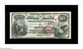 National Bank Notes:Kentucky, Clay City, KY - $10 1882 Brown Back Fr. 484 The Clay City NB Ch. #(S)4217. A high grade Brown Back from this very scarc...