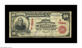 National Bank Notes:Kentucky, Corbin, KY - $10 1902 Red Seal Fr. 613 The First NB Ch. # (S)7544.Just two large notes are known from this rare Corbin ...