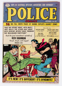 Police Comics #103 (Quality, 1950) Condition: VG+