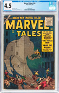 Silver Age (1956-1969):Science Fiction, Marvel Tales #149 (Atlas, 1956) CGC VG+ 4.5 Cream to off-white pages....