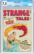 Silver Age (1956-1969):Superhero, Strange Tales #107 (Marvel, 1963) CGC VF- 7.5 White pages....