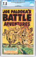 Golden Age (1938-1955):War, Joe Palooka's Battle Adventures #71 (Harvey, 1952) CGC VF- 7.5Light tan to off-white pages....