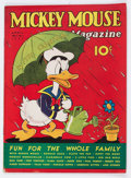 Platinum Age (1897-1937):Miscellaneous, Mickey Mouse Magazine V2#7 (K. K. Publications/Western Publishing Co., 1937) Condition: FN....