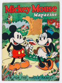 Mickey Mouse Magazine #9 (K. K. Publications/Western Publishing Co., 1936) Condition: Apparent VG