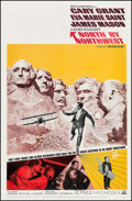 """Movie Posters:Hitchcock, North by Northwest (MGM, R-1966). One Sheet (27"""" X 41""""). Hitchcock.. ..."""