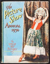 "The Picture Show Annual (Amalgamated Press, Ltd., 1930). Book (Multiple Pages, 8.5"" X 11""). Miscellaneous"