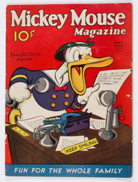Mickey Mouse Magazine #8 (K. K. Publications/Western Publishing Co., 1936) Condition: GD-