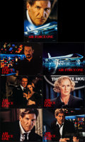Air Force One & Other Lot (Sony, 1997). International Lobby Card Set of 7 & International Lobby Card Set of 10 (...
