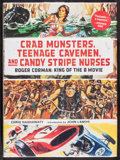 "Movie Posters:Exploitation, Crab Monsters, Teenage Cavemen, and Candy Stripe Monsters (Abrams,2013). Book (Multiple Pages, 8.5"" X 11.25""). Exploitation..."