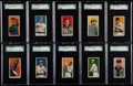 Baseball Cards:Lots, 1909-11 T206 Piedmont/Sweet Caporal SGC 40 VG 3 Graded Collection(10). ...