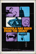 "Movie Posters:Horror, Dracula Has Risen from the Grave (Warner Brothers, 1969).International One Sheet (27"" X 41"") & Uncut Pressbook (16Pages, 1... (Total: 2 Items)"