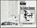 "Movie Posters:Sports, The Endless Summer (Cinema 5, 1966). Uncut Pressbook (4 Pages, 12"" X 18.25""). John Van Hamersveld Artwork. Sports.. ..."