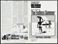 """The Endless Summer (Cinema 5, 1966). Pressbook (4 Pages, 12"""" X 18.25""""). Sports"""