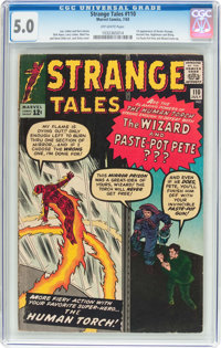 Strange Tales #110 (Marvel, 1963) CGC VG/FN 5.0 Off-white pages
