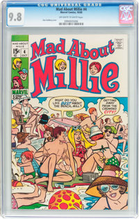 Mad About Millie #4 (Marvel, 1969) CGC NM/MT 9.8 Off-white to white pages