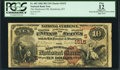 National Bank Notes:Kentucky, Henderson, KY - $10 1882 Brown Back Fr. 482 The Henderson NB Ch. #(S)1615. ...