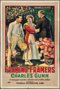 """Movie Posters:Comedy, Framing Framers (Triangle, 1917). One Sheet (27.5"""" X 41""""). Comedy.. ..."""