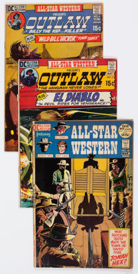 All-Star Western #5-10 Group (DC, 1971-72) Condition: Average VG/FN.... (Total: 6 Comic Books)