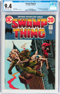 Bronze Age (1970-1979):Horror, Swamp Thing #2 (DC, 1973) CGC NM 9.4 Off-white to white pages....