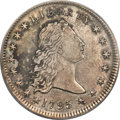 1795 $1 Flowing Hair, Two Leaves, B-4, BB-14, R.4, AU53 PCGS