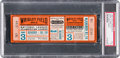 Baseball Collectibles:Tickets, 1935 World Series Game Three Full Ticket, PSA VG 3. . ...