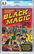 Golden Age (1938-1955):Horror, Black Magic #2 (Prize Publications, 1950) CGC VF+ 8.5 Off-white towhite pages....