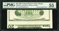Error Notes:Inverted Reverses, Fr. 2083-F $20 1996 Federal Reserve Note. PMG About Uncirculated55.. ...