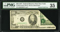 Error Notes:Foldovers, Fr. 2072-B $20 1977 Federal Reserve Note. PMG Choice Very Fine 35.....