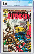 Bronze Age (1970-1979):Superhero, The Defenders #37 (Marvel, 1976) CGC NM+ 9.6 White pages....