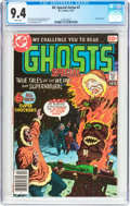 Bronze Age (1970-1979):Horror, DC Special Series #7 Ghosts Special (DC, 1977) CGC NM 9.4 White pages....