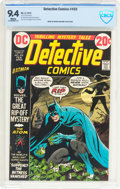 Bronze Age (1970-1979):Superhero, Detective Comics #432 (DC, 1973) CBCS NM 9.4 White pages....