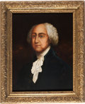 Art, John Adams: A fine 1805-dated Oil on Canvas Portrait Attributed to William Dunlap....